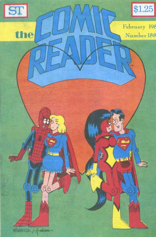 Comic Reader [in Comics > Industry Publications (Biographies