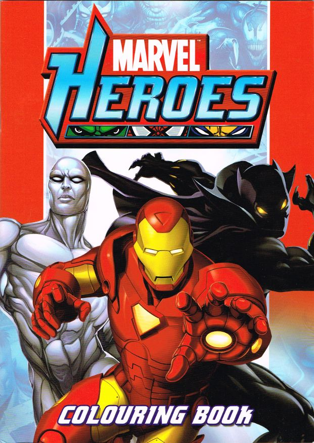 Marvel Heroes: Colouring Book (Alligator) [in Comics > The ...