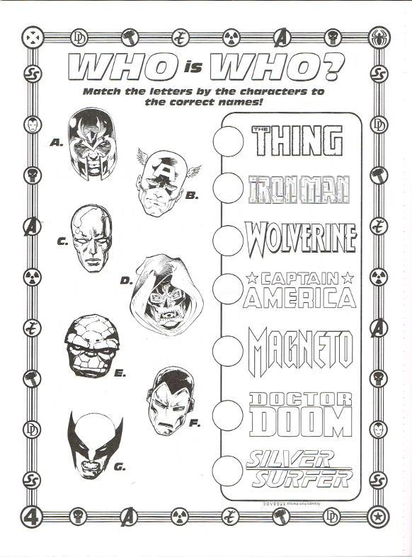 Marvel Color Activity Bendon In Comics Gt Books