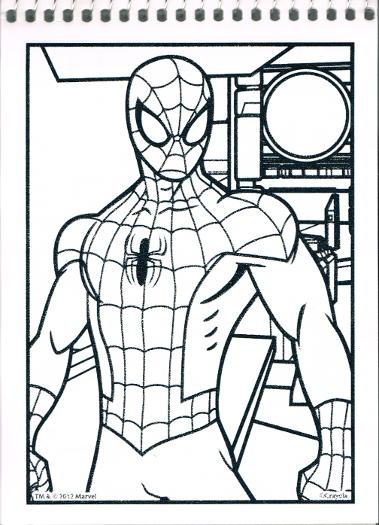 Ultimate Spider Man Color Wonder Crayola In Comics