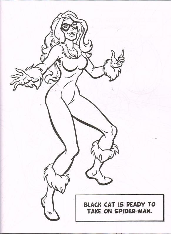 Marvel Super Heroes: Mega Colouring Book [in Comics] @ SpiderFan.org
