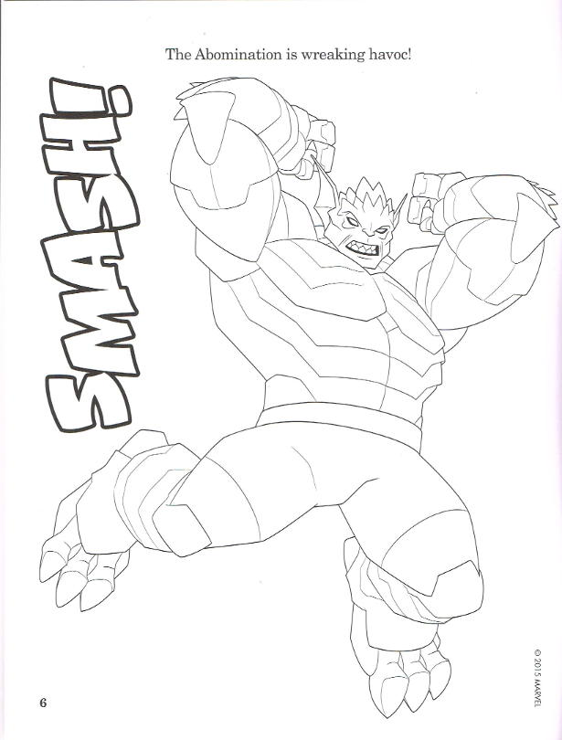 marvel coloring pages abomination.html