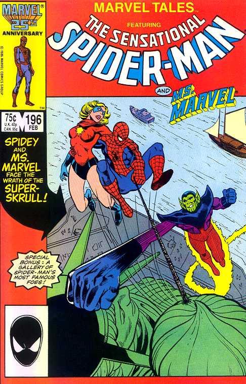 USA,1986 reprints Amazing Spiderman # 43 Marvel Tales # 183