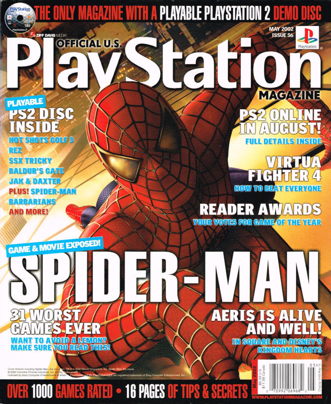 playstation magazine u s in comics industry material