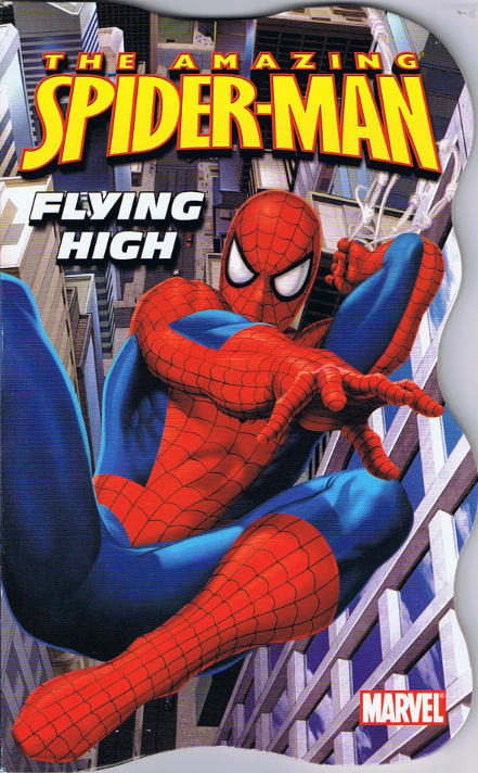 SpiderMan Flying High Bendon