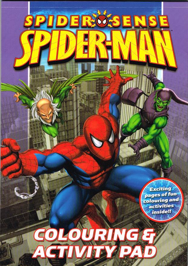 Spider Man Color Activity Alligator In Comics Gt Books