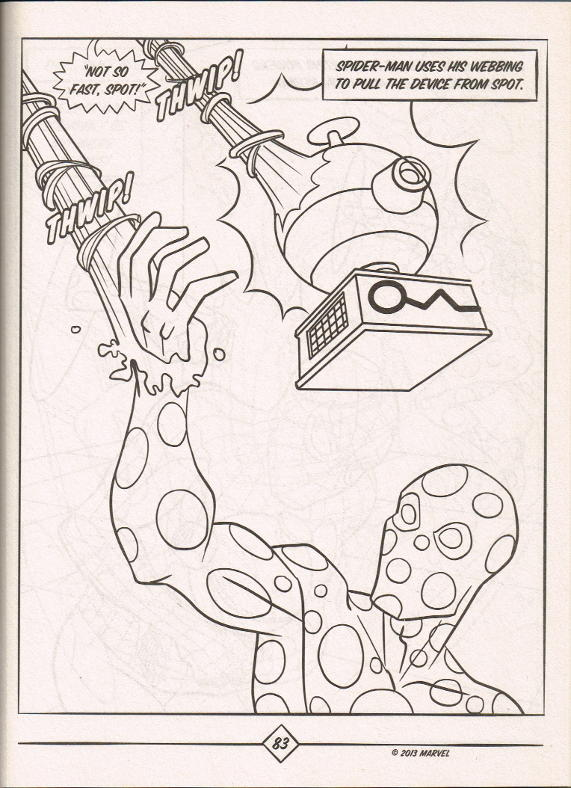 Spider Man Color Activity Bendon Page 3 Of 3 In
