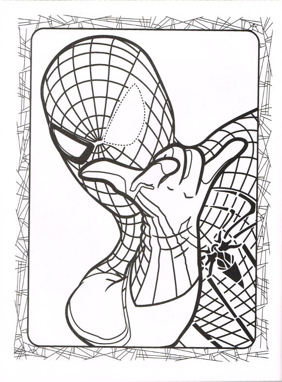 Lizard Spider Man Coloring Page Lizard Spider Man Coloring P On ...   787x581