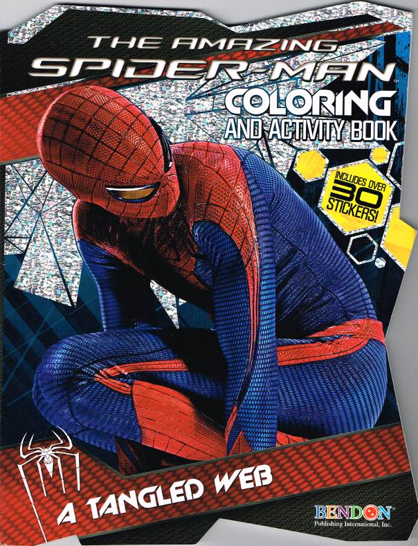 Bendon 64 Pgs The Amazing Spiderman Jumbo Coloring and Activity Book