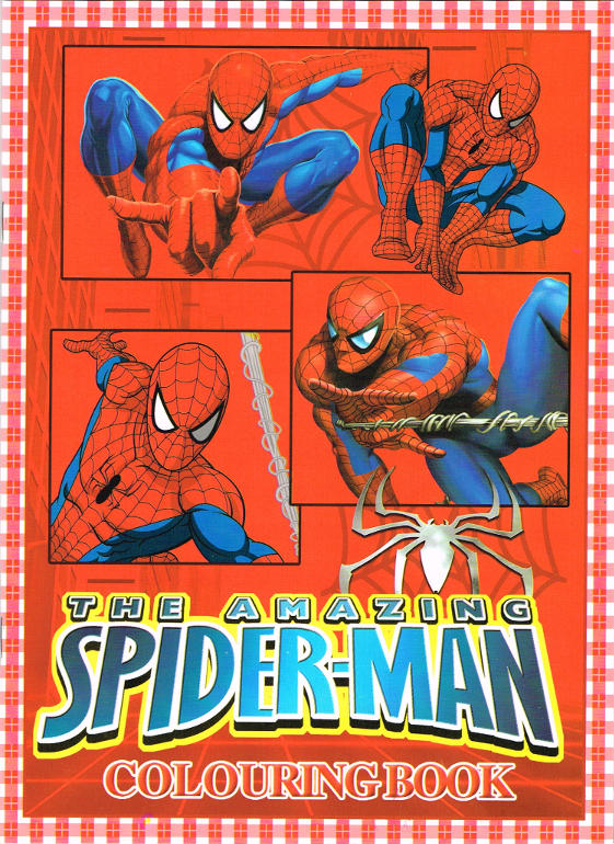 spiderman black and white coloring.html