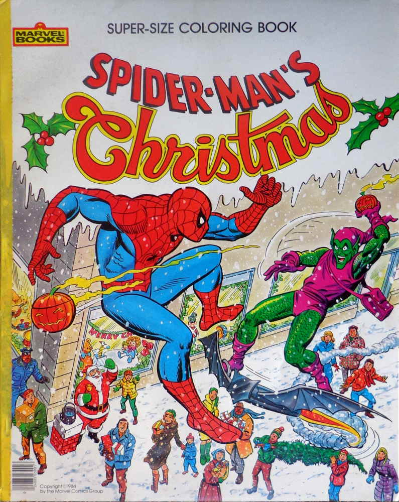 Spiderman Christmas.Spider Man S Christmas In Comics The Magic Of Color