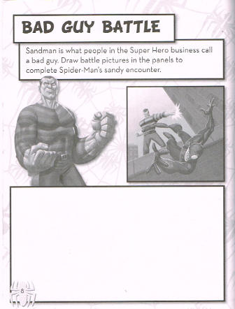 Spider-Man Color/Activity Tins (Parragon) [in Comics > Books