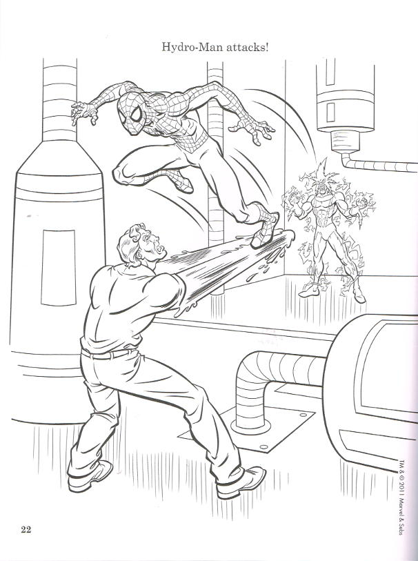 Amazing Spider-Man 2: Giant Coloring & Activity Book - Swing On ... | 813x606