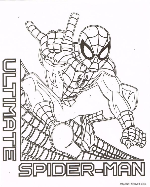 Ultimate Spider-Man: Marker by Number (Tri-Coastal, 2012 ...