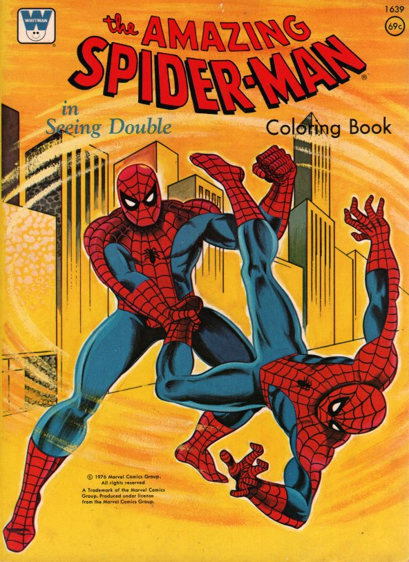 Spider-Man Coloring Books (Whitman) [in Comics > Books (Coloring ...