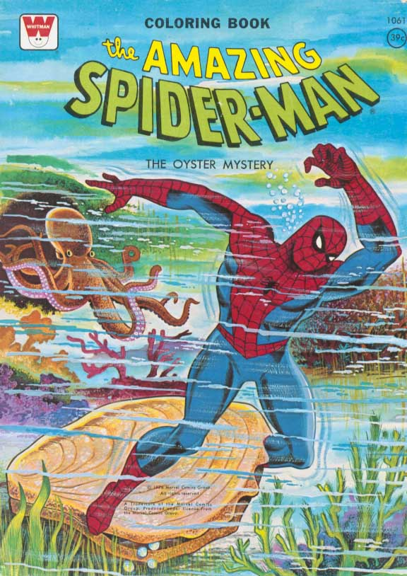 Spider-Man Coloring Books (Whitman) [in Comics > Spider-Man Coloring ...